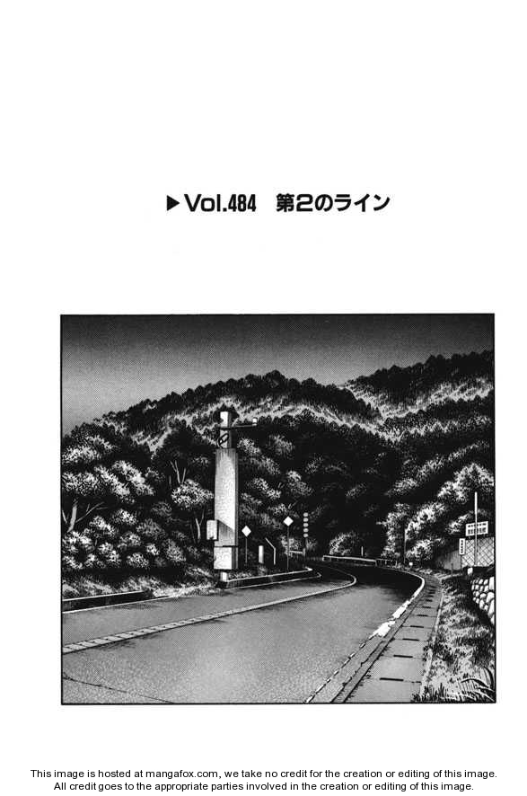 Initial D 484 Page 1