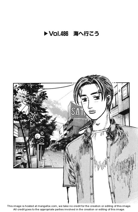Initial D 486 Page 1