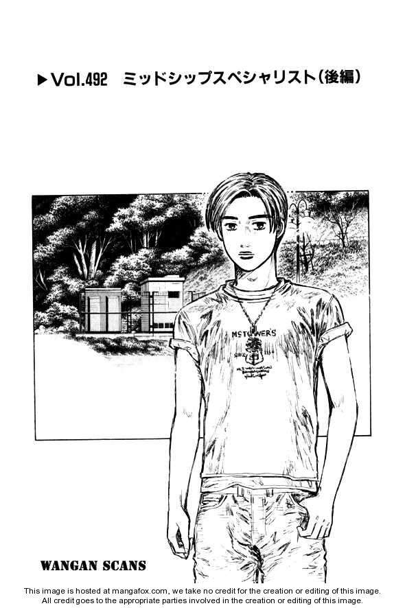 Initial D 492 Page 1