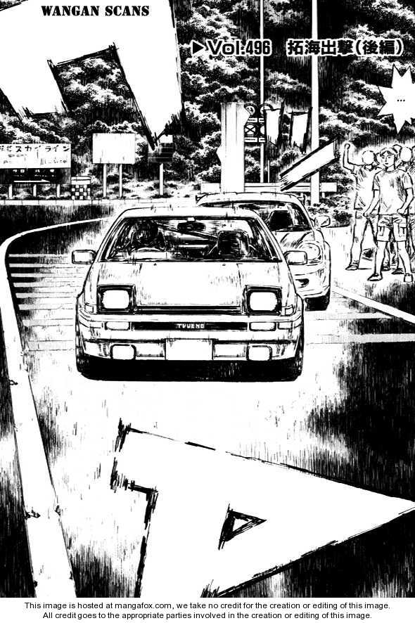 Initial D 496 Page 1