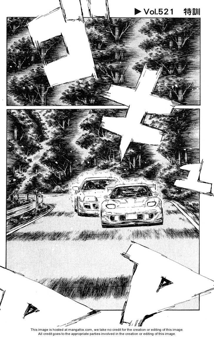 Initial D 521 Page 1