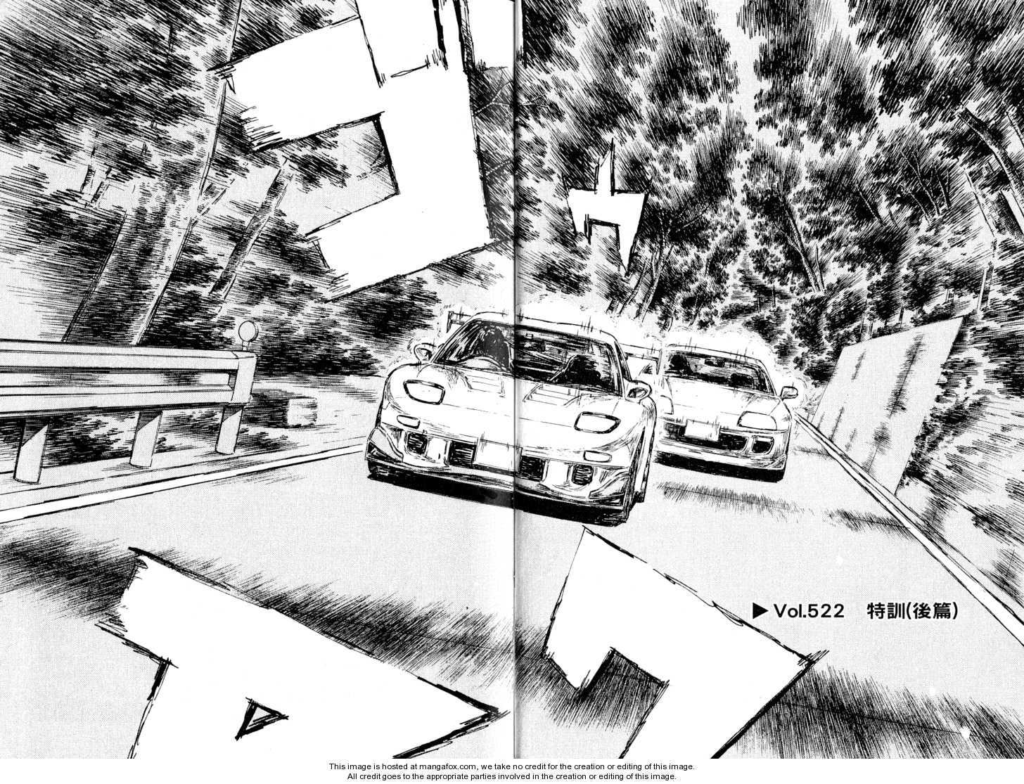 Initial D 522 Page 1