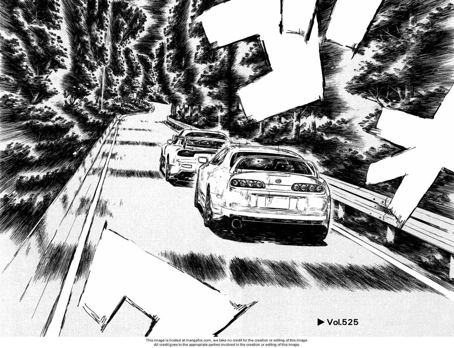 Initial D 525 Page 1