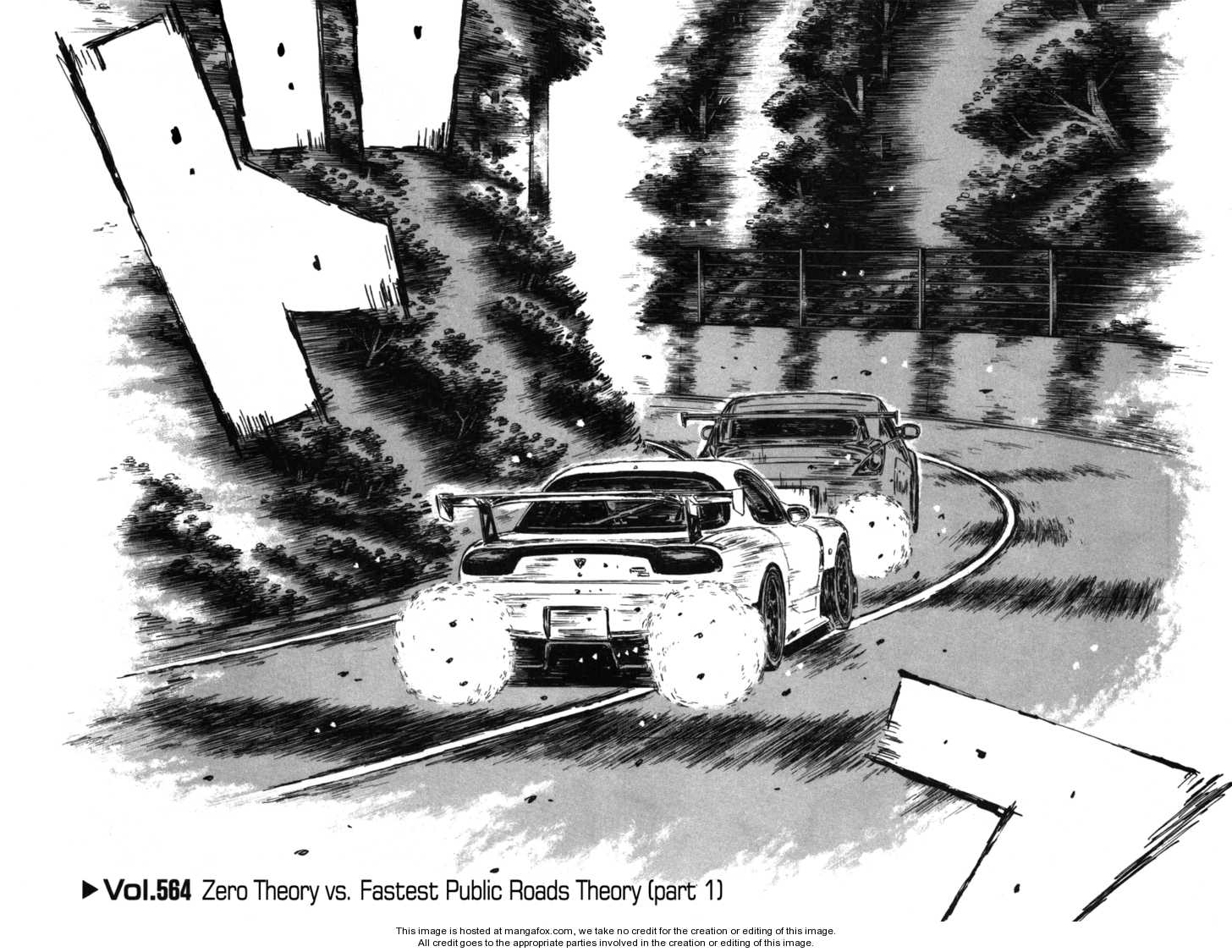 Initial D 564 Page 1