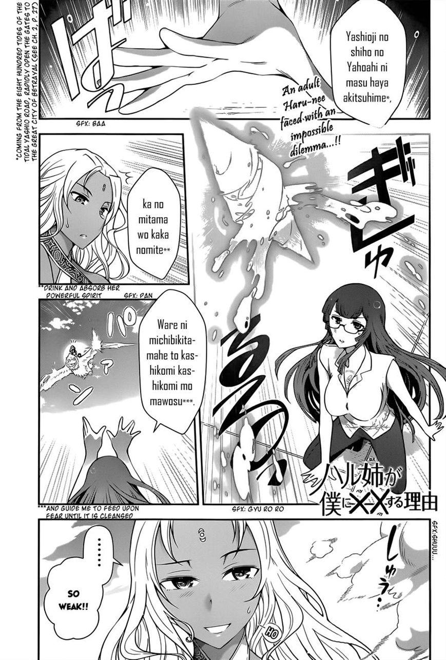 Haru-nee ga Boku ni xx Suru Riyuu 4 Page 1