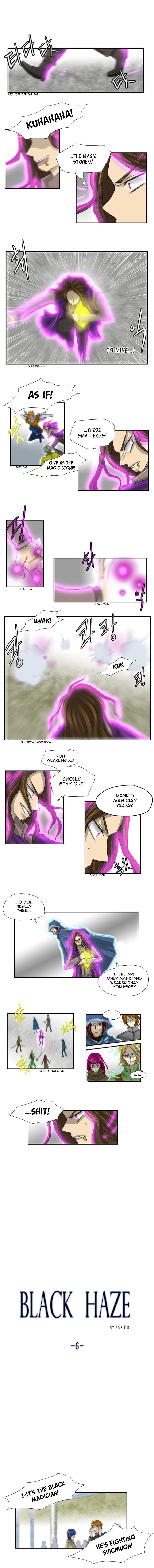Black Haze 6 Page 1