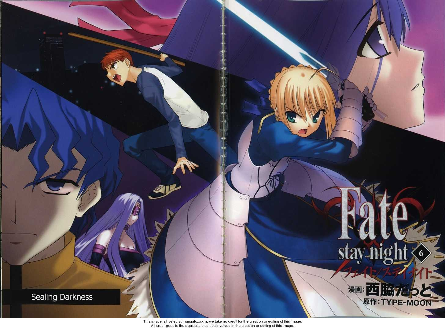 Fate/Stay Night 25 Page 5