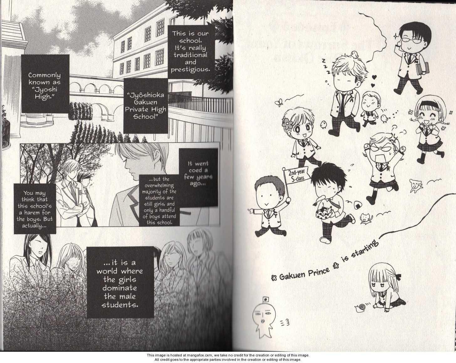 Gakuen Ouji 5 Page 1