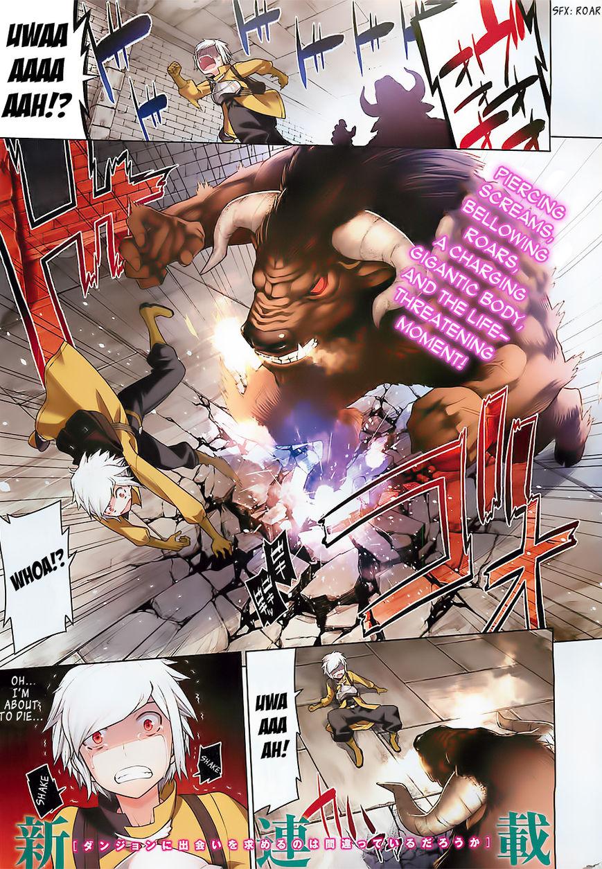 Dungeon ni Deai o Motomeru no wa Machigatte Iru Darou ka 1 Page 2