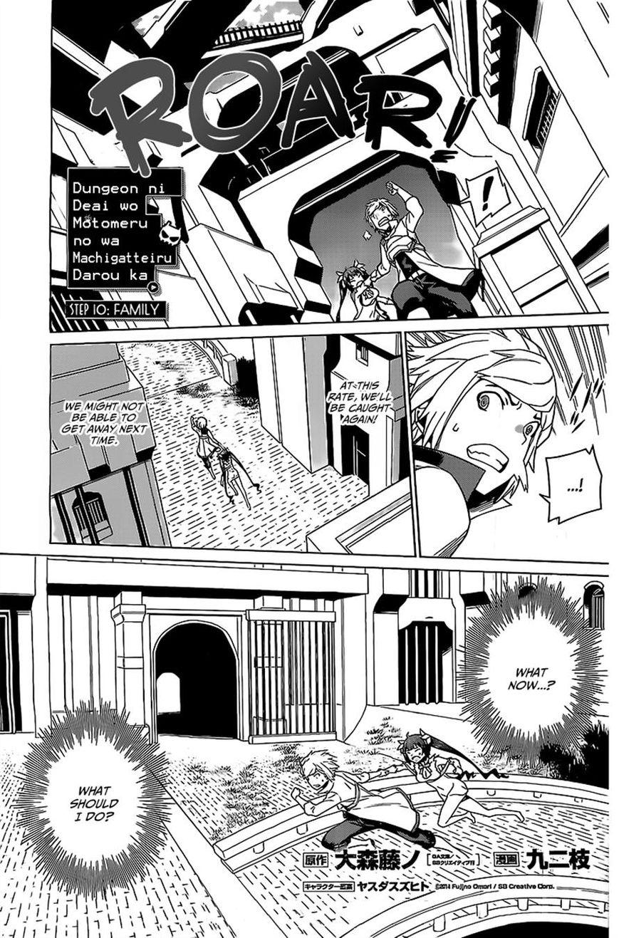 Dungeon ni Deai o Motomeru no wa Machigatte Iru Darou ka 10 Page 1