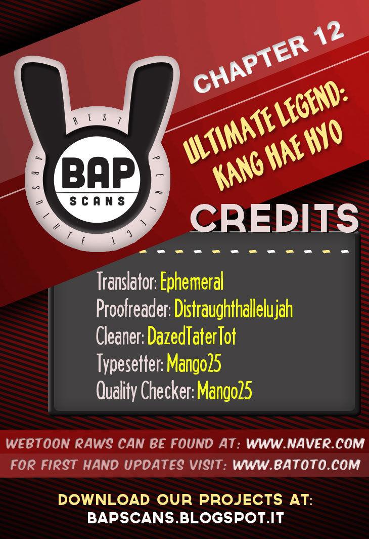 Ultimate Legend: Kang Hae Hyo 12 Page 1
