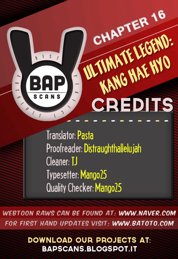 Ultimate Legend: Kang Hae Hyo 16 Page 1