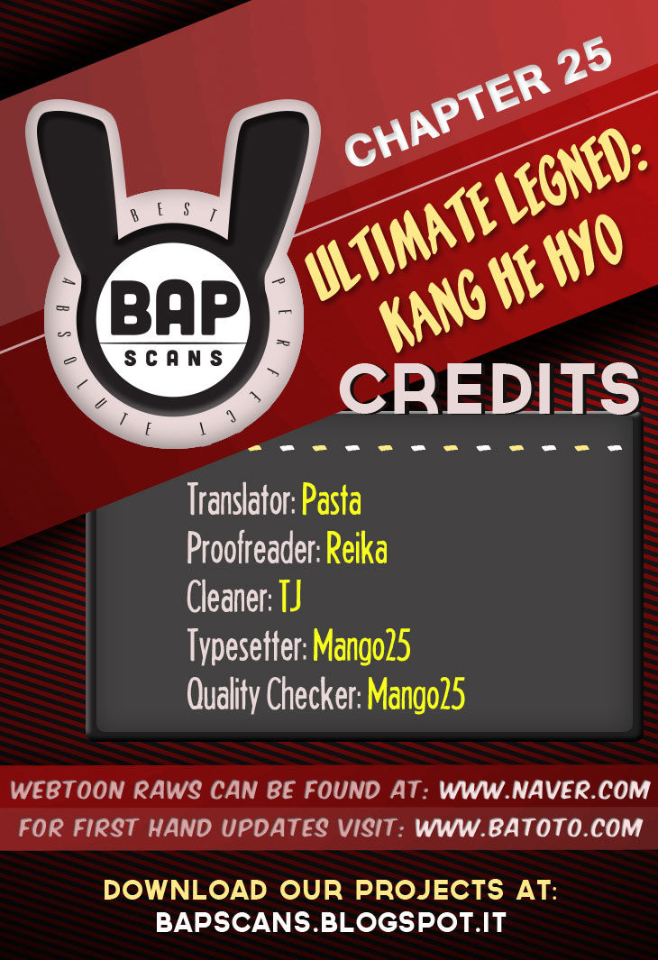 Ultimate Legend: Kang Hae Hyo 25 Page 1