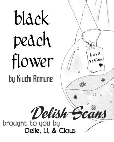 Black Peach Flower 1 Page 1