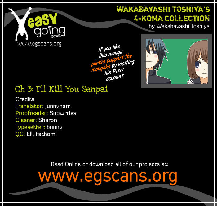 Wakabayashi Toshiya's 4-koma Collection 3 Page 1