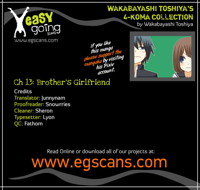 Wakabayashi Toshiya's 4-koma Collection 13 Page 1