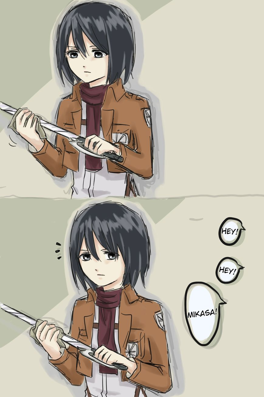 Shingeki no Kyojin dj - How to Improve Your Relationship with Mikasa 2 Page 1