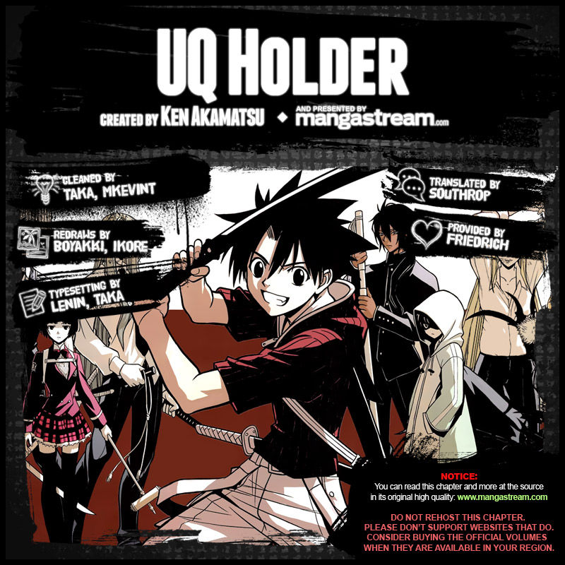 UQ Holder! 5 Page 2
