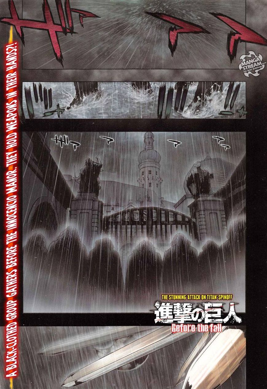 Shingeki no Kyojin - Before the Fall 4 Page 1
