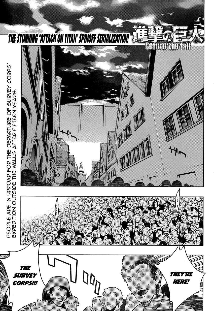 Shingeki no Kyojin - Before the Fall 6 Page 1