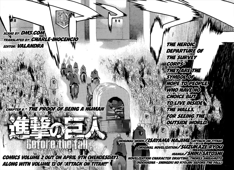 Shingeki no Kyojin - Before the Fall 6 Page 2