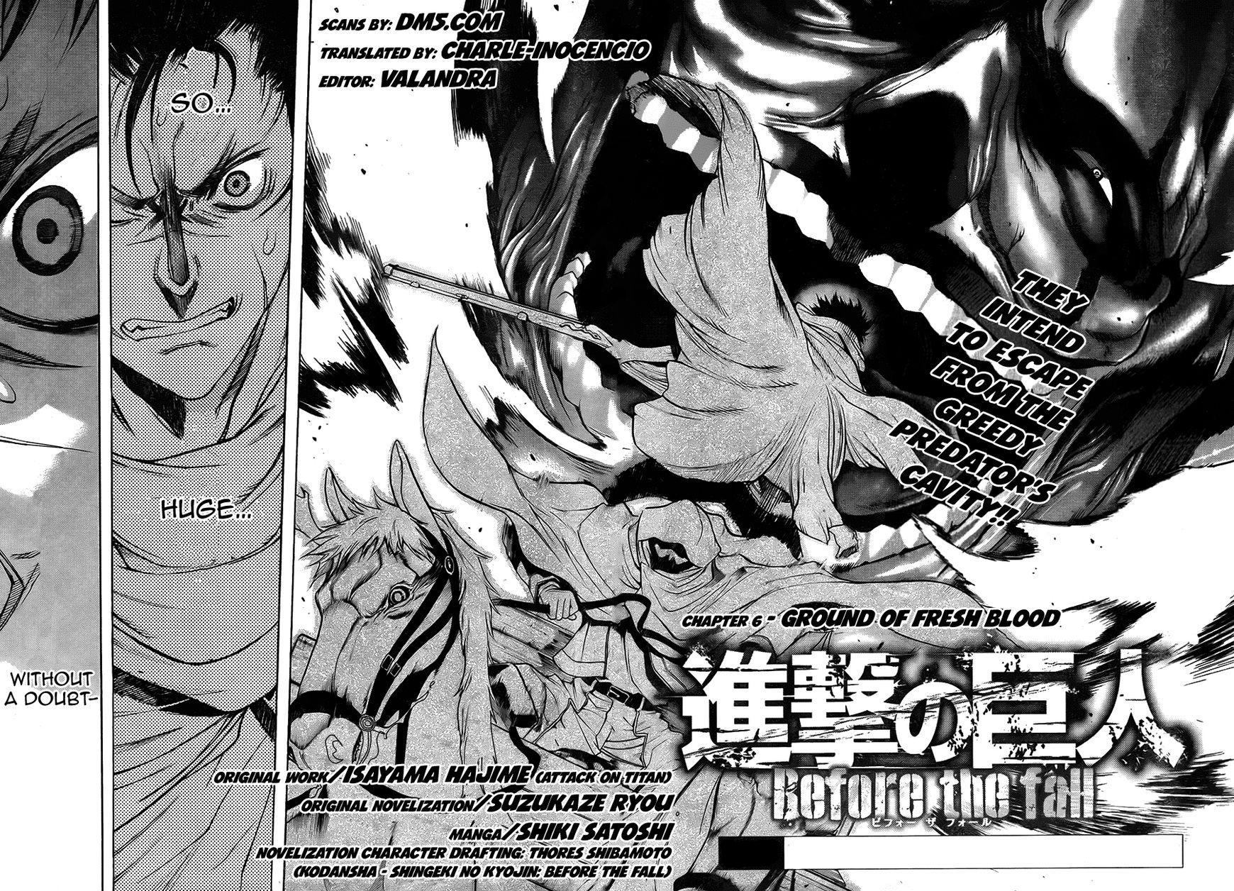 Shingeki no Kyojin - Before the Fall 7 Page 2