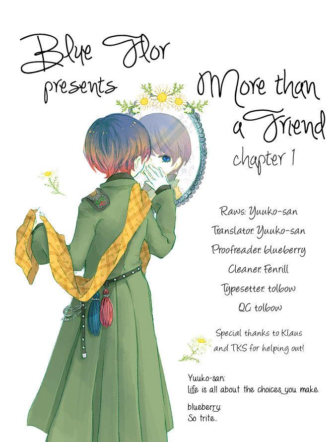 Tomodachi Ijou 1 Page 1