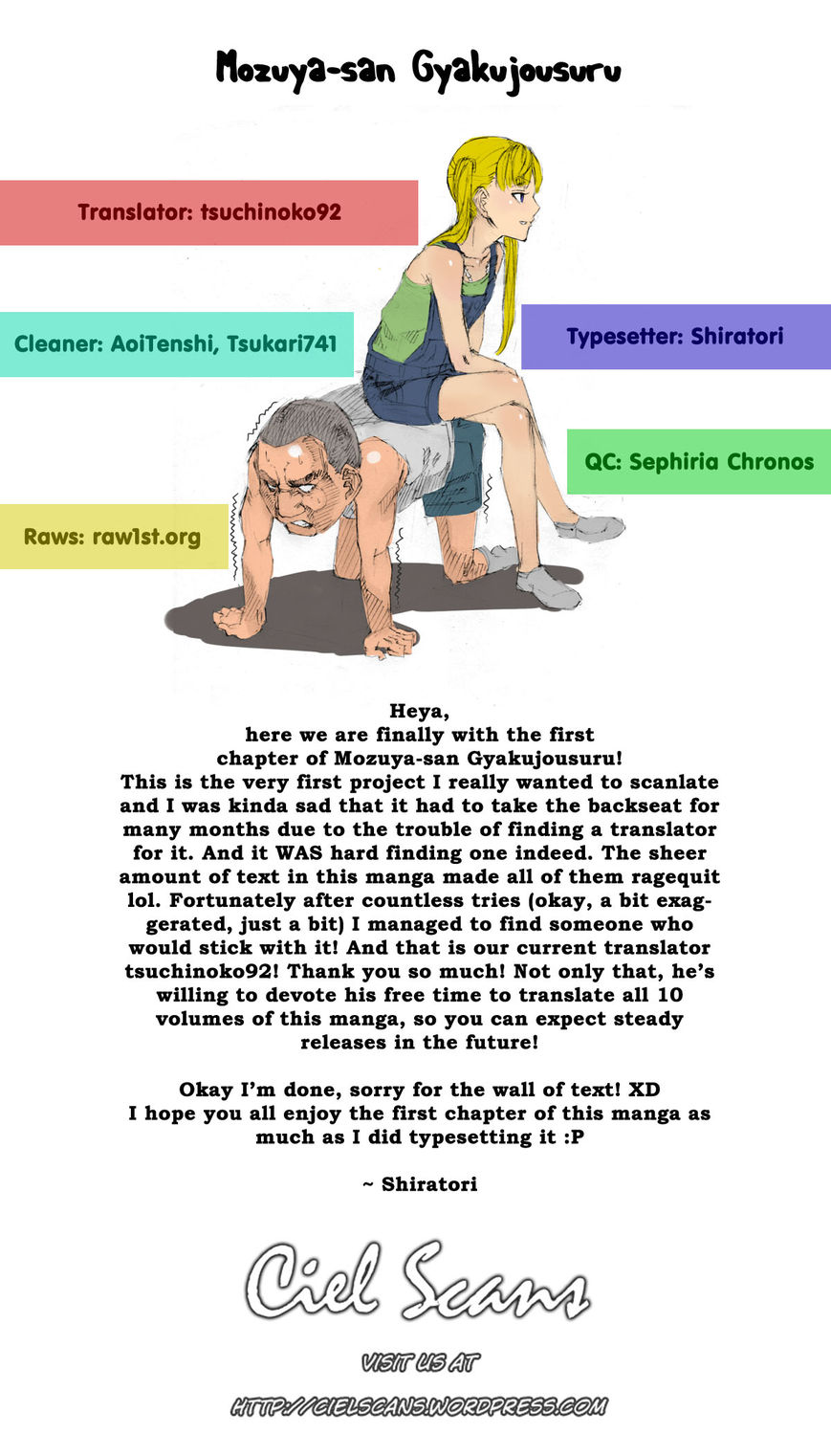 Mozuya-san Gyakujousuru 1 Page 2