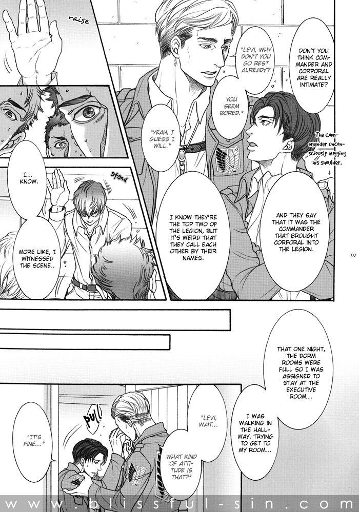 Shingeki no Kyojin dj - Heichou de Moushouchuu 1 Page 10