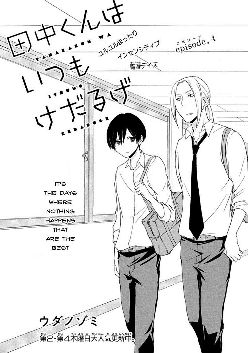 Tanaka-kun wa Itsumo Kedaruge 4 Page 2