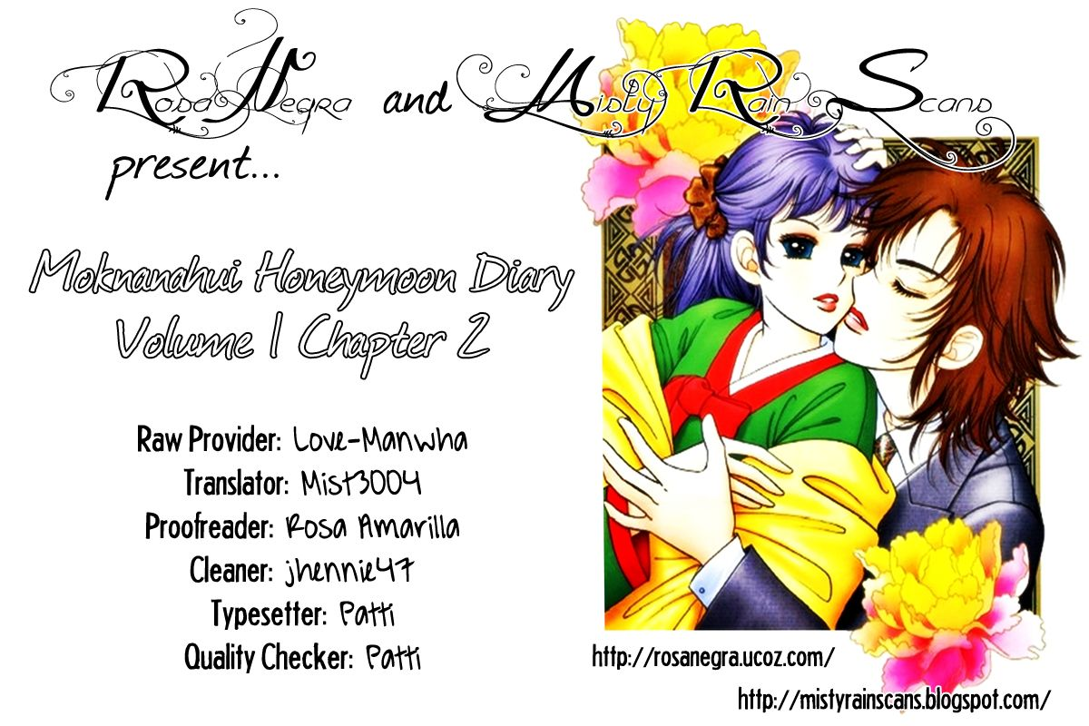 Moknanahui Honeymoon Diary 2 Page 1