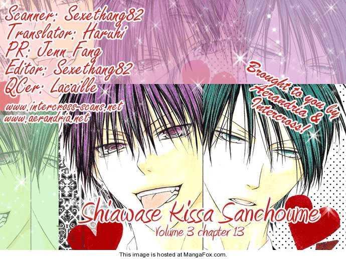 Shiawase Kissa Sanchoume 13 Page 3