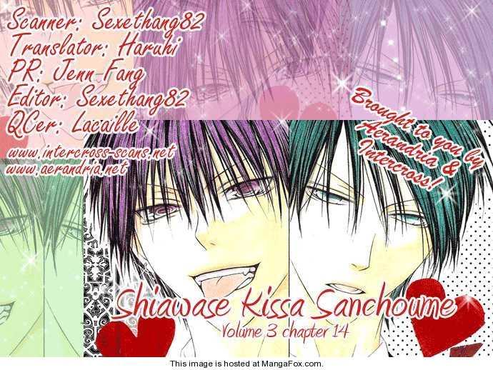 Shiawase Kissa Sanchoume 14 Page 3