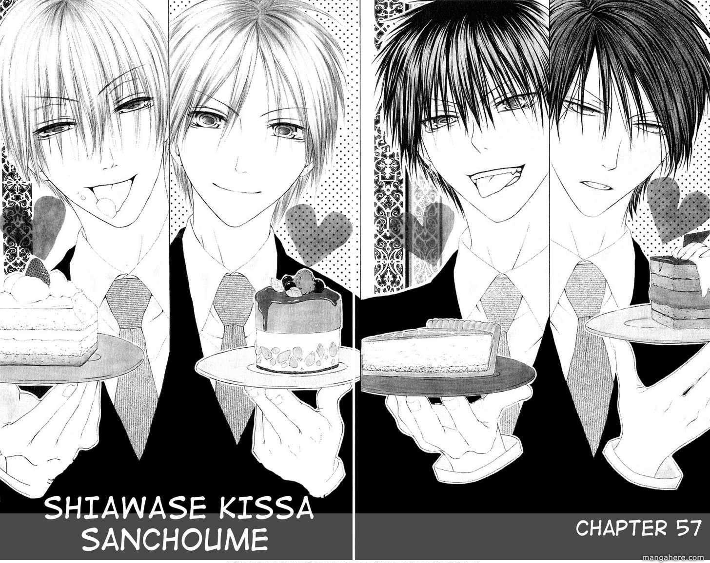 Shiawase Kissa Sanchoume 57 Page 1