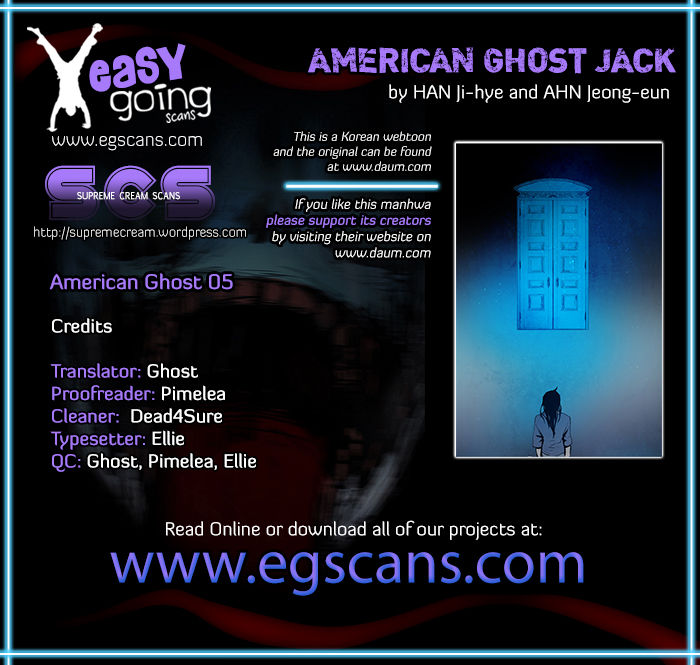 American Ghost Jack 5 Page 1