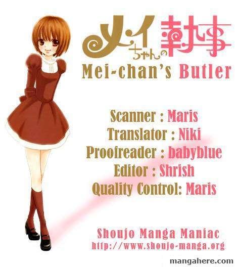 Mei-chan no Shitsugi 36 Page 1