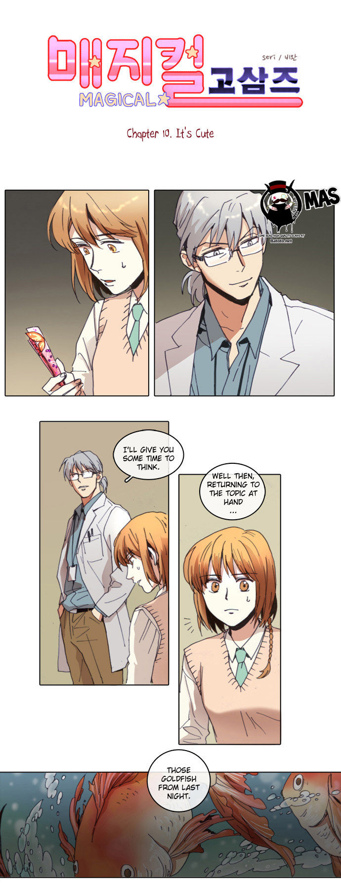 Magical Exam Student 10 Page 2