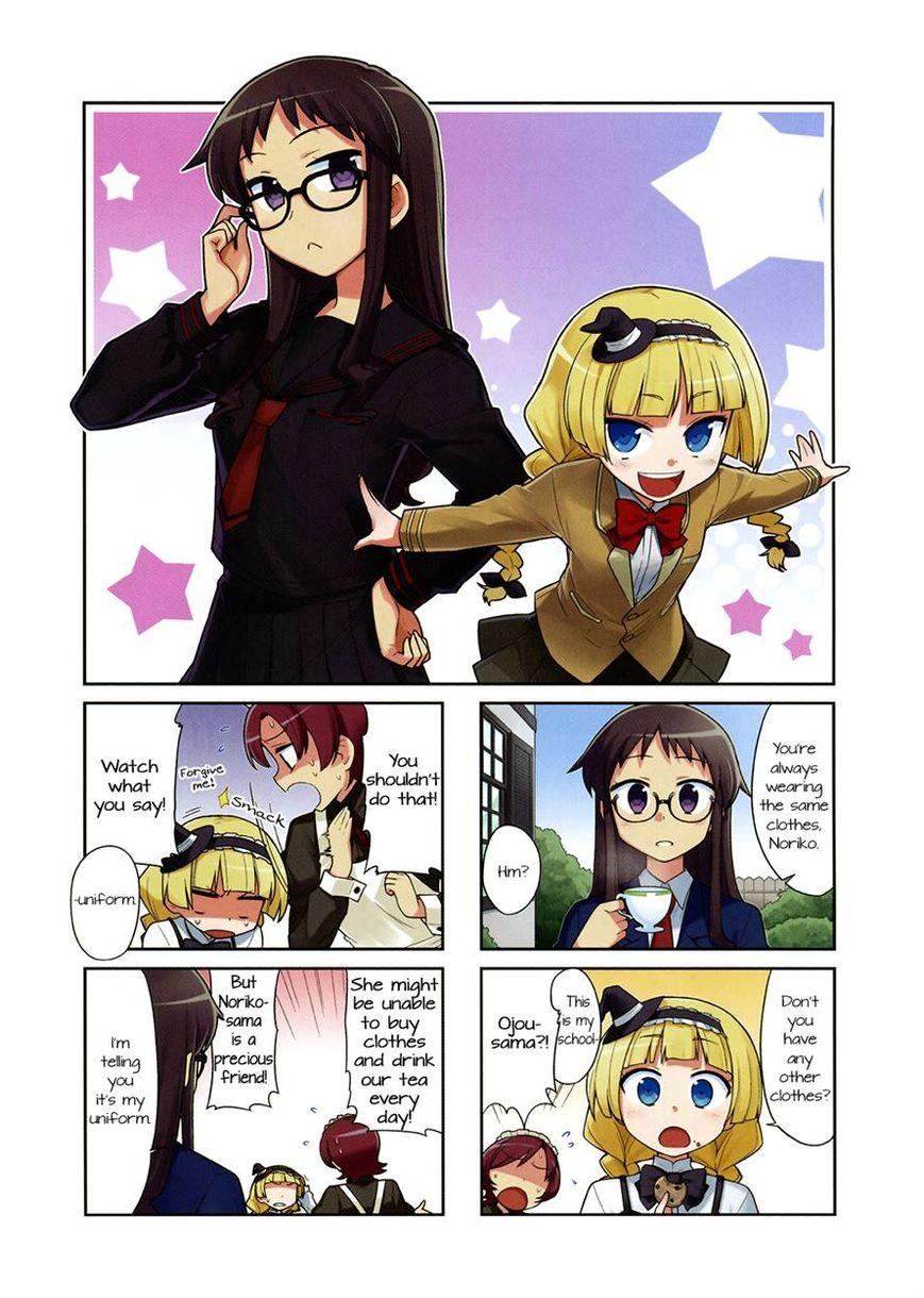 Majo to Houki to Kurobuchi Megane 4 Page 1