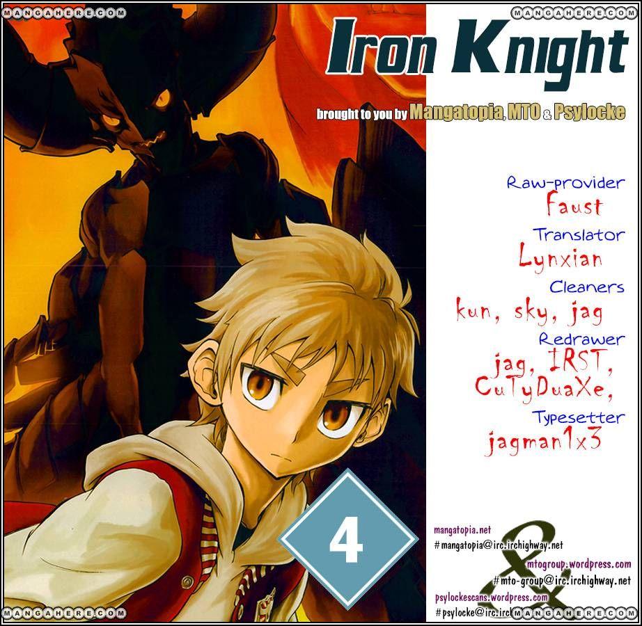 Iron Knight 4 Page 1