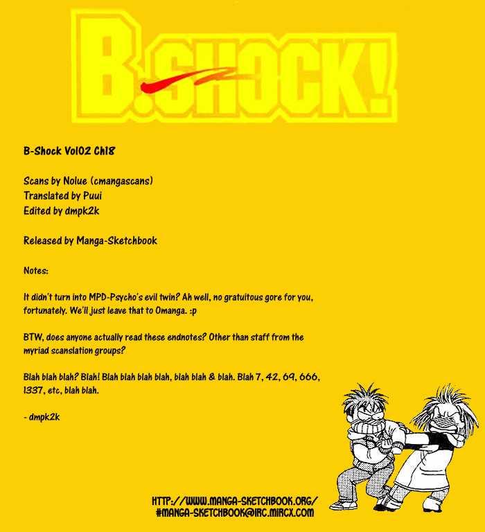 B-Shock 18 Page 1