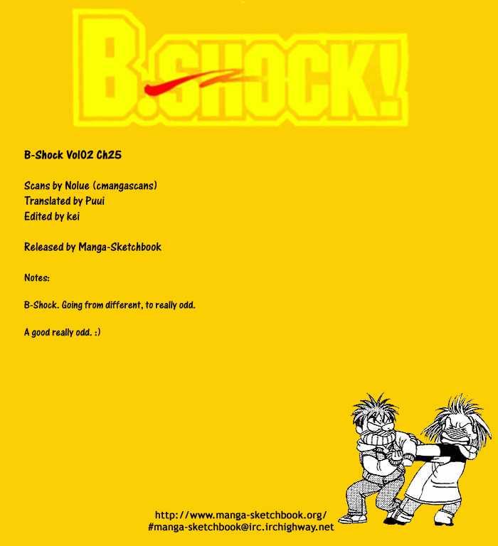 B-Shock 25 Page 1