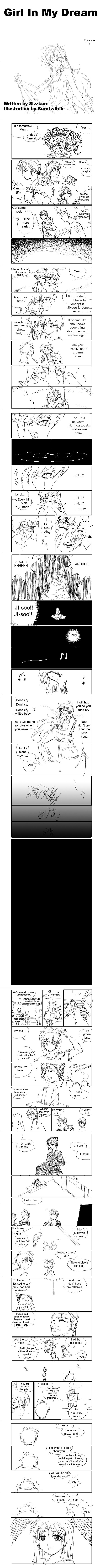 Girl in my Dream 7 Page 1