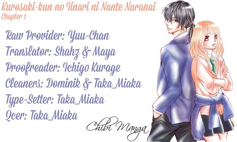 Kurosaki-kun no Iinari ni Nante Naranai 1 Page 1