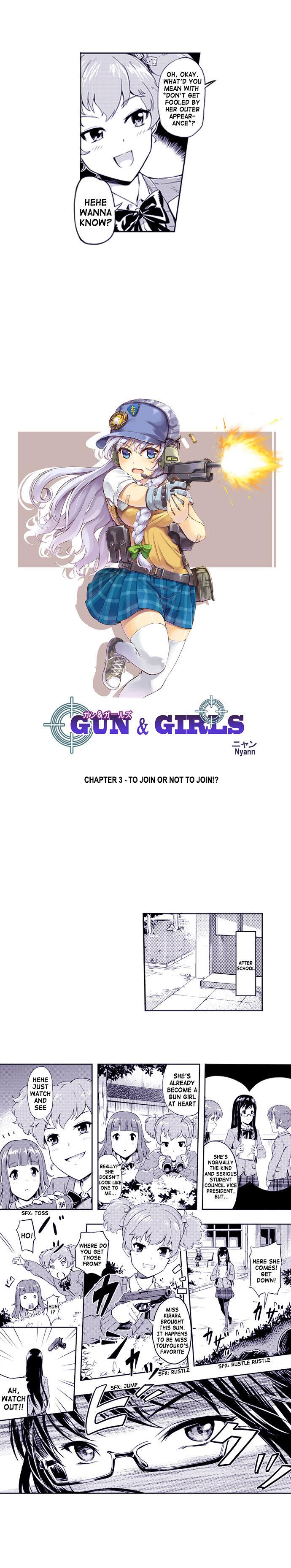 Gun & Girls 3 Page 1