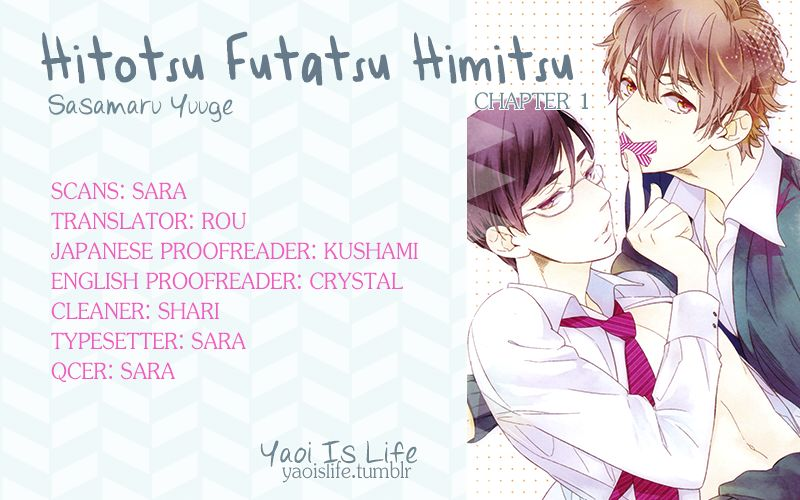 Hitotsu Futatsu Himitsu 1 Page 1