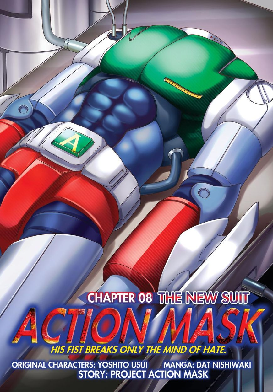 Action Kamen 8 Page 3