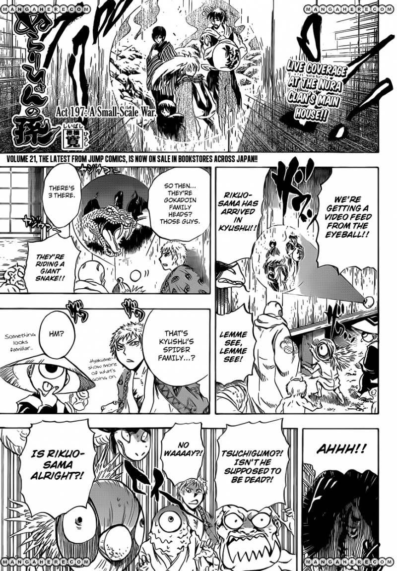 Nurarihyon no Mago 197 Page 1
