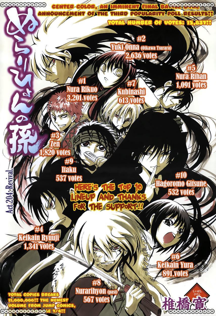Nurarihyon no Mago 204 Page 2