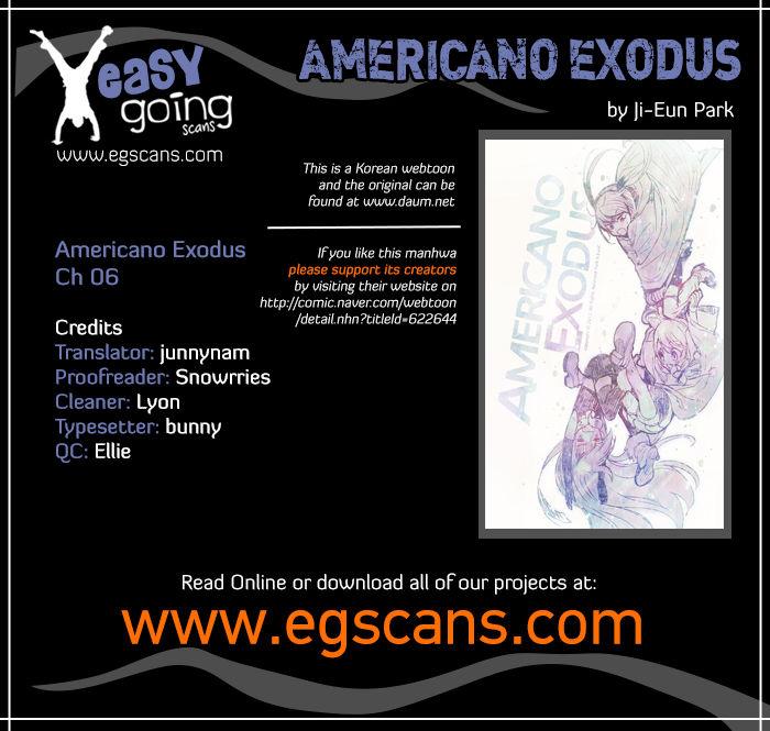Americano-Exodus 6 Page 1