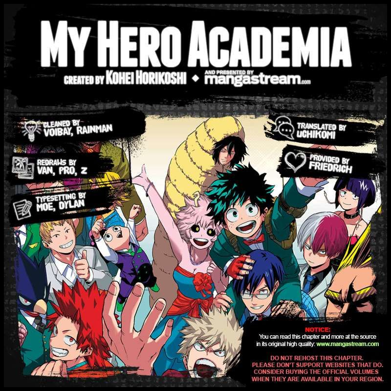 Boku no Hero Academia - Chapter 116